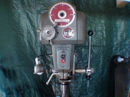 Delta Woodworking Machinery South Africa by Tubalcain Buys A Delta Variable Speed Drill Press At Auction Youtube