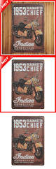 1953 indian moto chic home bar vintage metal signs home decor