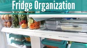 home organization fridge organization plus food prep tips youtube