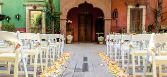 outdoor wedding venues az boojum tree garden wedding and reception venue