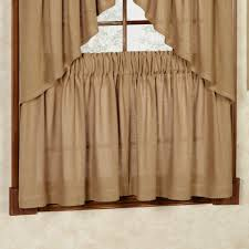 burlap valance window treatments caurora com just all about