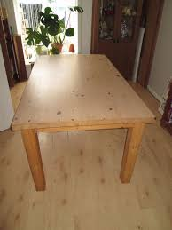 Solid Pine Table Chunky Solid Pine Ikea Forsby Farmhouse Dining Table In