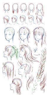 anime hairstyles tutorial female hair tutorial by justokazu on deviantart