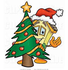 cartoon christmas decorations clipart 49