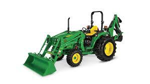 compact utility tractor 4105 john deere ca