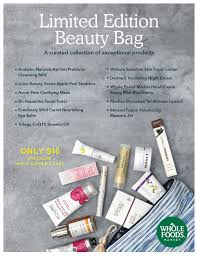 our natural beauty favorites during the whole foods beauty sale