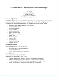 resume templates for customer service representatives 28 images