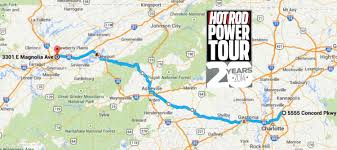 Route 40 Map day two route map power tour 2014 concord nc to knoxville tn