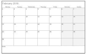 2016 printable calendar templates in excel calendar template 2017