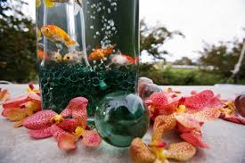Goldfish In A Vase Persian Wedding With Western Influence In Napa Valley California