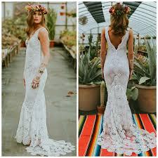 crochet wedding dress boho wedding dress crochet lace