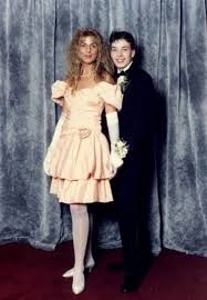 Eighties Prom Dresses The Cringeworthy Prom Pictures The Stars Hoped Would Never See The