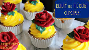 the cupcakes beauty and the beast cupcakes fluffnpuff pastry