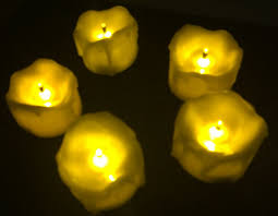 led tea lights with timer 240pcs lot flameless led tea light candle w timer burnt wick melted