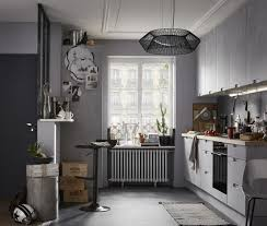 cuisine roi merlin une cuisine grise de type industriel leroy merlin