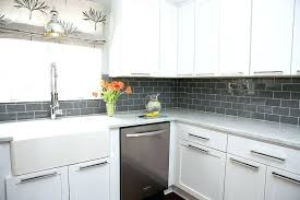 subway tile backsplash ideas for the kitchen grey kitchen backsplash ideas white kitchen with grey subway tile