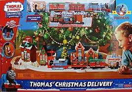 thomas the train christmas delivery trackmaster toy railway set