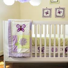 bedroom unique leopard and purple crib bedding set design the
