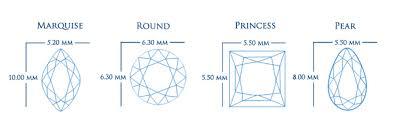 diamond stud size diamond carats learn all about diamond carat weight