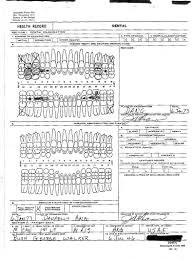 George W Bush Birth George W Bush U S Air Force Dental Exam Record Jan 6 1973