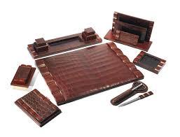 Modern Desk Sets Excellent Best Leather Desk Sets Images On Set Excellent Best