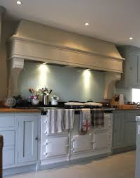 beautiful country kitchen stone canopy range hood beautiful