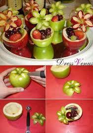 Apple Centerpiece Ideas by Best 25 Food Decorations Ideas On Pinterest Garnishing Ideas