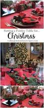 decorating how to set the table using christmas terrariums