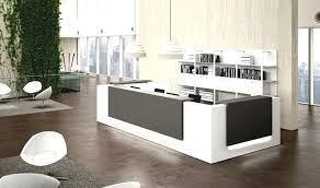 Reception Desks Contemporary And Modern Office Furniture  HomeLK