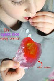 diy agate candy slices candy science sugar spice and glitter