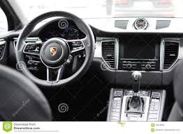 mitsubishi suv 2016 interior deggendorf germany 23 april 2016 interior of a 2016 porsche
