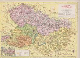 Czechoslovakia Map 50 Off Estate Sale Vintage Map Art Switzerland U0026 Liechtenstein
