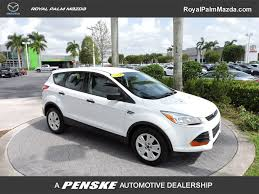 Ford Escape 2014 - 2014 used ford escape fwd 4dr s at royal palm toyota serving