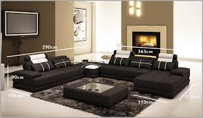 canapé d angle cuir blanc design beautiful sectional sofa with oversized ottoman decorative 464488