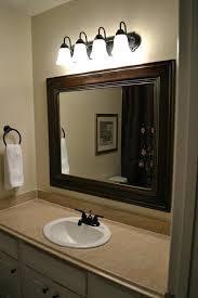 Bronze Bathroom Mirror Bronze Bathroom Mirrors Dazzling Rubbed Bronze