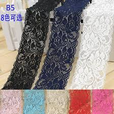 navy blue lace ribbon aliexpress buy spandex lace elastic lace trim stretch