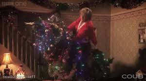 brown s christmas tree christmas tree netflix and chill gif find on giphy