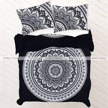 Black And White King Size Duvet Sets King Mandala Bedding And Duvet Covers Set Fairdecor Com