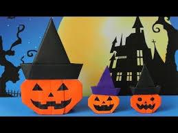 Youtube Halloween Crafts - 25 unique origami halloween ideas on pinterest halloween paper
