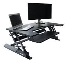 Stand Up Computer Desk Adjustable Height Adjustable Elevating Standing Desk Converter