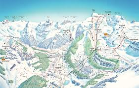 Photo Map Bergfex Pistenplan Engelberg Titlis Panoramakarte Engelberg