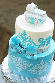 baby shower cake damask baby shower cake the honeylove