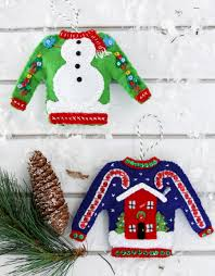 Ugly Christmas Ornament Christmas In July Ugly Christmas Sweater Ornaments Kit