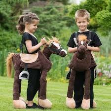 children u0027s ride on pony dress up costume pony costumes and