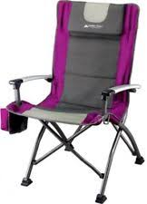 Low Back Armchair Ozark Trail Folding Low Back Portable Chair Cup Holder Outdoor