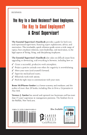 the essential supervisor u0027s handbook brette mcwhorter sember