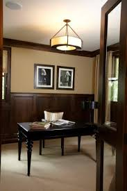the best neutral paint colours to update dark wood trim