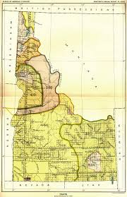 map us idaho indian land cessions in the u s idaho map 16 united states