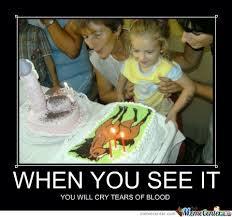 Meme Birthday Cake - when you see it by ben meme center