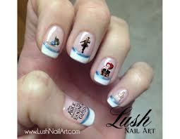 disney villain nail art